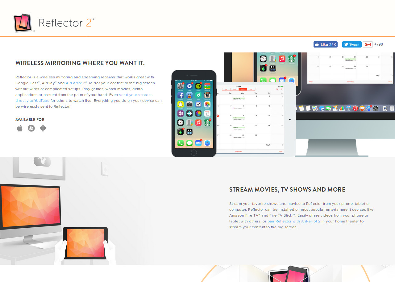 Reflector 2 | Best CSS Award | Apps and Web Design Gallery