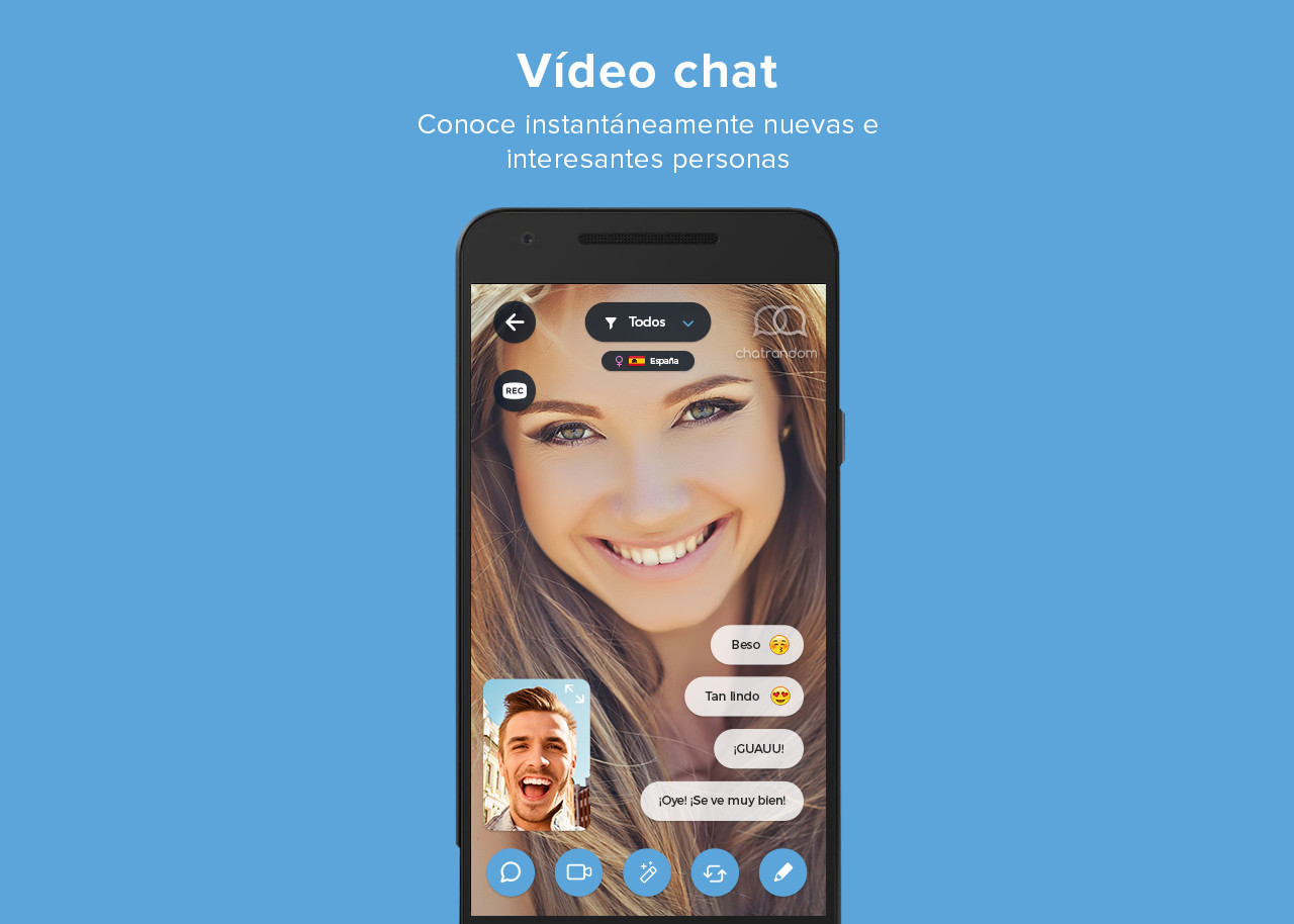Chat random for mobile