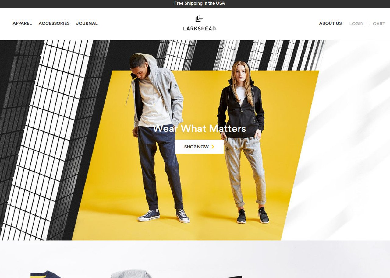 Larkshead | Best CSS Award | Apps and Web Design Gallery
