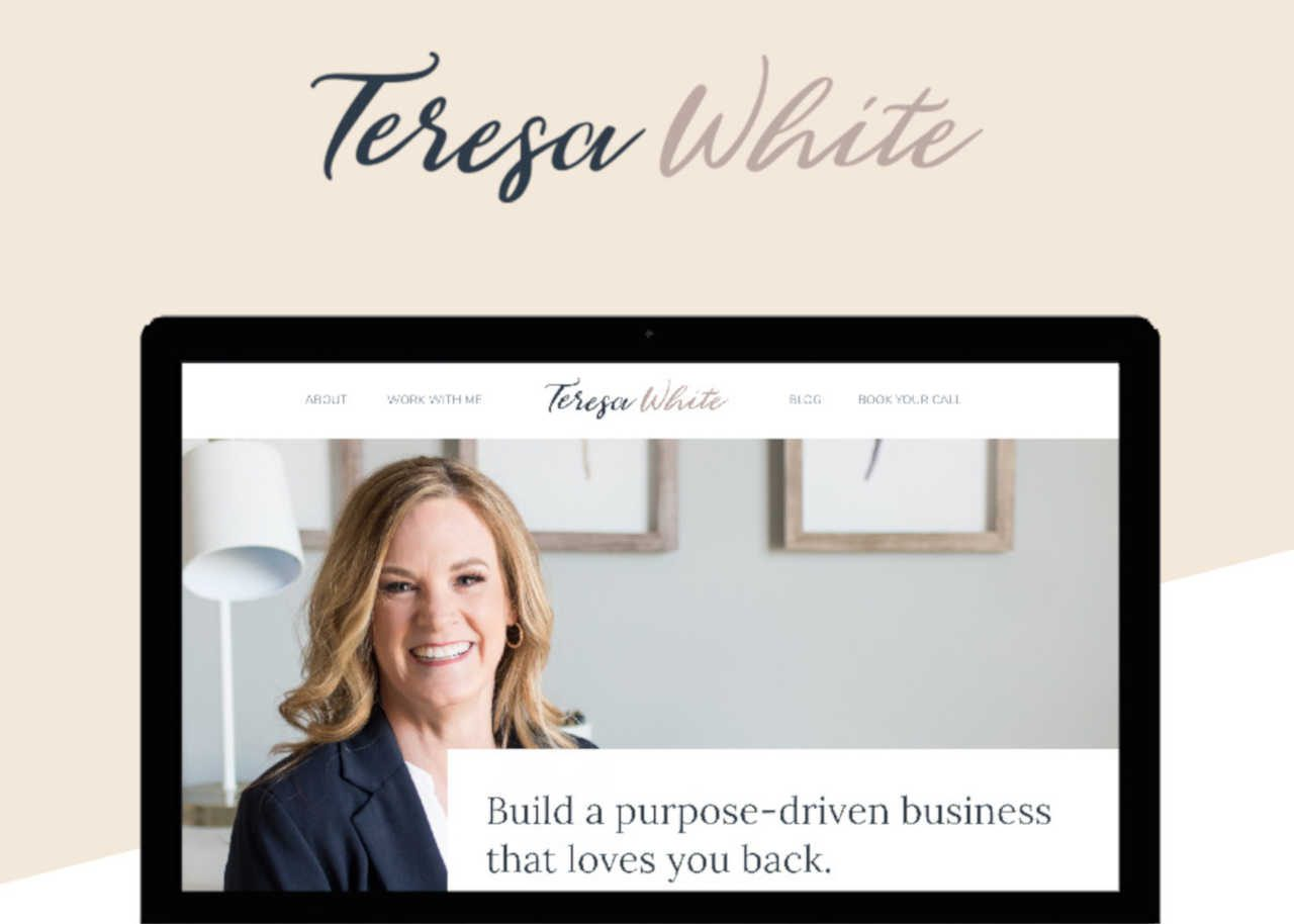 Teresa White Business Coach Best Css Award Apps And Web Design Gallery Inspiration